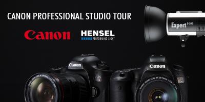 Canon und Hensel Professional Studio Tour 2015