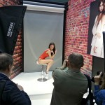Photoforum 2016 / Olympus booth with Hensel
