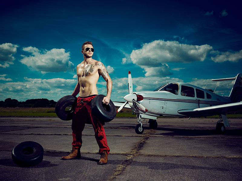 Fashion auf dem Airfield 2016 © Christian Kuhlmann, Model: Jannis