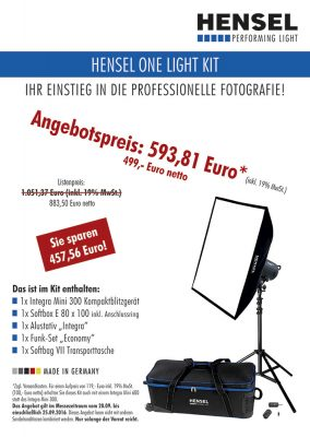 Hensel One Light Kit