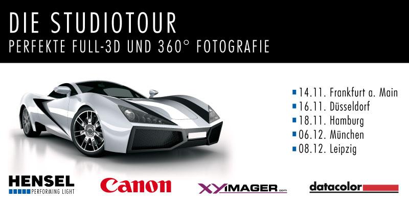 Perfekte Full-3D & 360° Fotografie - Die Studiotour