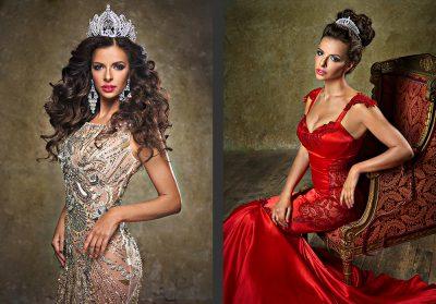 Miss Russia Univers 2016 Nadezhda Lysenko / Photo: Ira Bachinskaya
