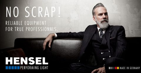 No Scrap! Reliable equipment from Hensel for true professionals.