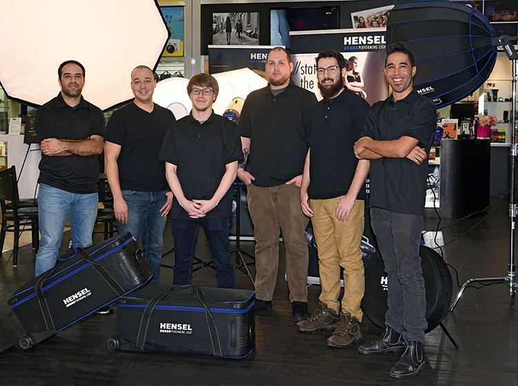 The Hensel Team of Unique Photo