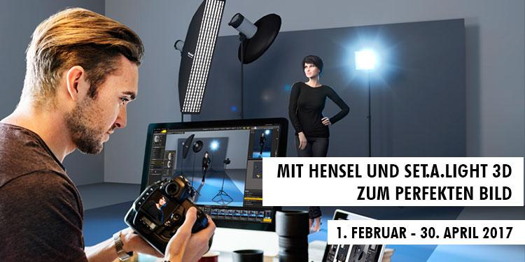 Mit Hensel und set.a.light 3D zum perfekten Bild