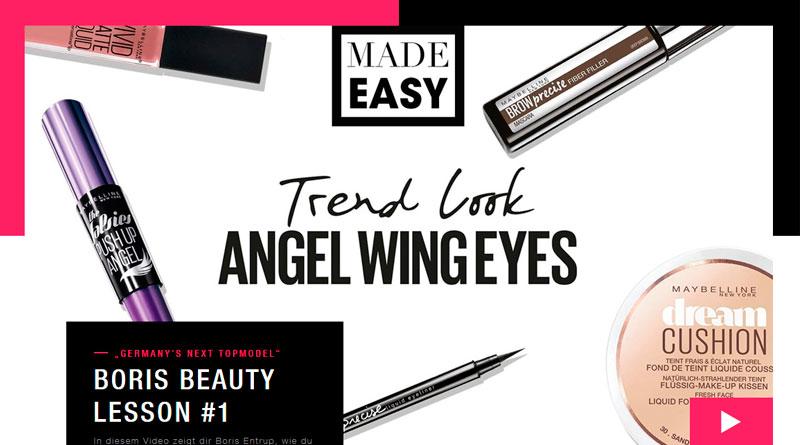 Briese Light Maybelline New York Make-Up Tutorials GNTM | HENSEL : HENSEL