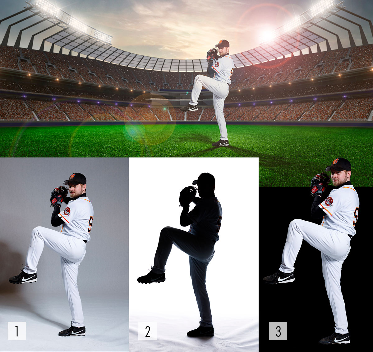 Baseball Composing by Alexey Dovgulya