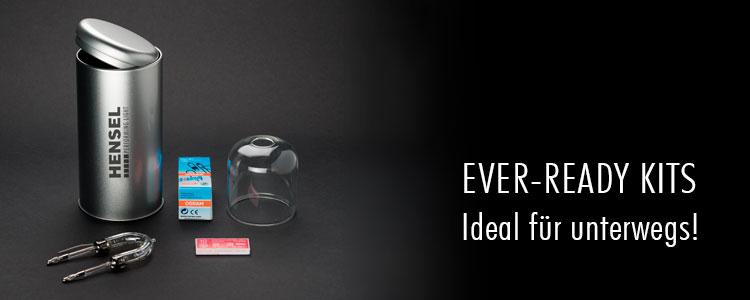 Ever-Ready Kits - jetzt dauerhaft im Sortiment!