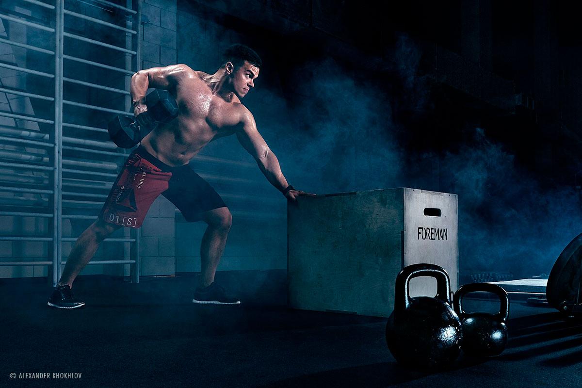 5 Licht-Setups für Fitness-Fotos on Location © Alexander Khokhlov