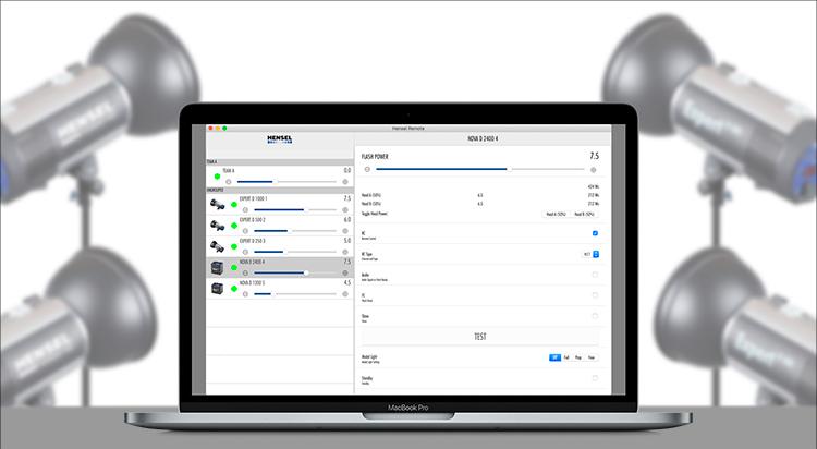 macOS WiFi Remote - Hensel