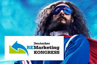 Hensel beim Deutscher ReMarketing Kongress